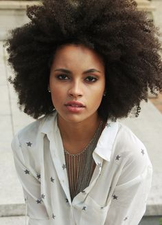 Messy #afro #naturalhairstyle  Loved By NenoNatural!