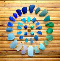 Scottish sea glass - so beautiful