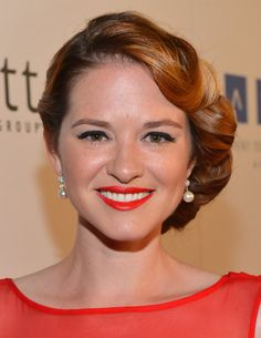 Sarah Drew Pearl Stud Earrings