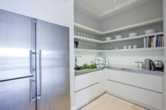 Scullery Ideas On Pinterest Hipster Home Pantries And Butler Pantry