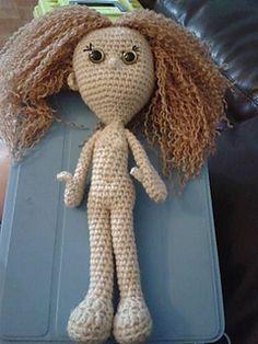 Amigurumi Human : Crochet toys (dolls) on Pinterest Doll Patterns ...
