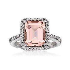 Pink engagement ring!