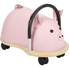 Ride-on pig!