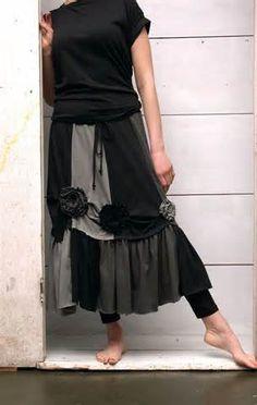refashion skirt, idea, skirts, upcycl cloth, bing, upcycl skirt, flowers, upcycl dress, upcycle clothing