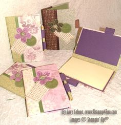 Post It Note Book tutorial