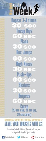Workout of the Week: December 2, 2013 @Purdue Rec Sports   #movemoreachievemore