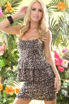 Leopard Ruffles