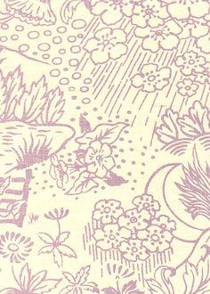 Toile in Lavender from Kathryn Ireland