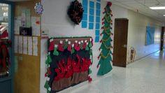 Christmas school decorations