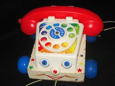 Fisher Price, Toy Phone. fisher price toys, time, 1970s toy, rememb, play, toy phone, childhood memori, mine, thing