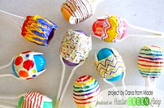 Make Easter Egg Maracas ~ Creative Green Living