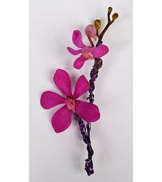 Reaction Boutonniere purple in Indianapolis IN - Gillespie Florists