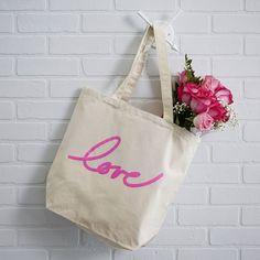 Valentine's day tote