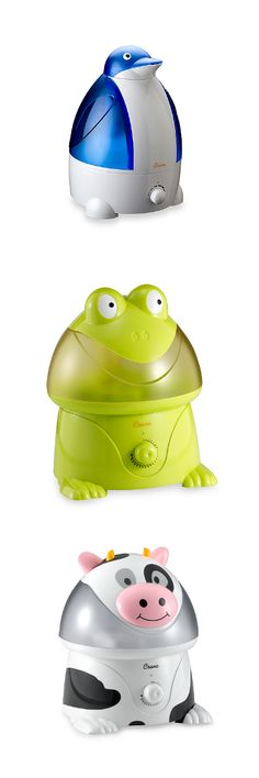 The cutest cool mist humidifiers for kids.