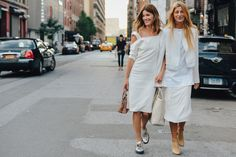 Tommy Ton Shoots Street Style at the Spring 2015 RTW Shows. #fashionweek #style #streetstyle #chic