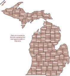 Sweet Michigan camping spots...
