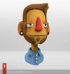 Jeremy Kool's art blog: Puppet - mit fur
