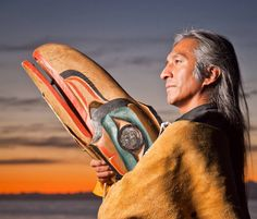 Gene Tagaban is a many faceted individual of Tlingit, Cherokee and Filipino. He is a trainer, consultant, dancer, teacher, storyteller, actor, plays the flute and drums.