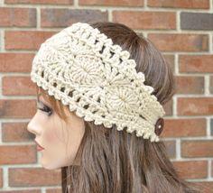 Original pattern Ear warmer Headband