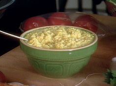 CREAMED CORN: ~ From Food Network.Com ~ Recipe Courtesy of Paula Deen. Prep.Time: 25 min; Cooking time: 10 min; Servings: (4).