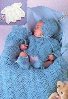 Вяжем для новорожденных от 6 месяцев