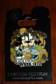 mickey minni, golden week, minnie mouse, disney aulani, mous pin