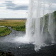Sweet shot form Peter Baker @ Seljalandsfoss, Iceland