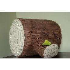 Tree stump floor cushion.