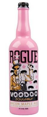 Rogue Voodoo Doughnut Bacon Maple Ale ($13): That's right Voodoo Doughnuts and Rogue Ales collide into sweet, salty, meat lover's heaven.