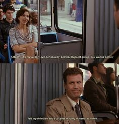 Stranger Than Fiction - A truly fabulous movie. If you haven't seen it, do so immediately. Thank me later.
