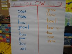 teaching vowel sounds