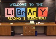 Summer Reading Bulletin Board at Anderson Branch Library, Lincoln, Nebraska