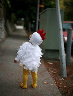 Baby chicken costume   Halloween 2013   Lovely Morning