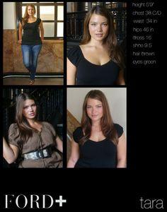 """Tara Lynn height 5'9"""" dress size 16"""