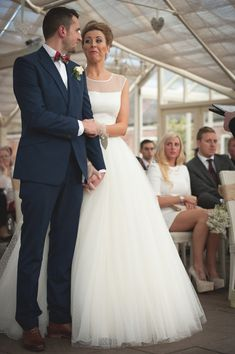 Polka Dots and Playfulness for a Relaxed Winter Wedding | Love My Dress® UK Wedding Blog