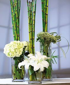 bamboo decorations