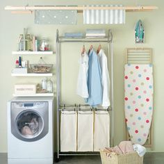 THIS IS IT!! Organised utility room