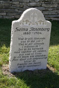 Tombstone Tuesday - Selma Rosenberg, a sad story #genealogy #familyhistory