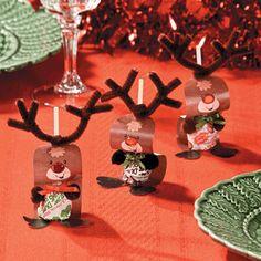 Paper Reindeer Pops Craft