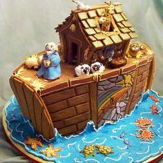 Noah's Ark Gingerbread House