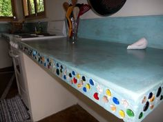 I love these countertops.