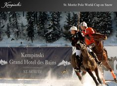 Snow Polo in St. Moritz, Switzerland