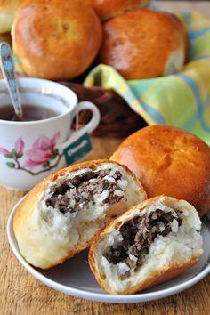 Пирожки с начинкой из ливера и риса (любимое, проверенное тесто)