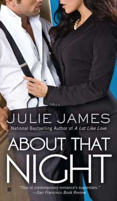 About That Night (FBI #3) by Julie James