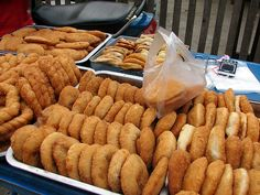 Fried Foods For Sale - Luang Prabang, Laos