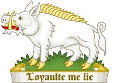 White Boar Badge of Richard III (Loyaulte Me Lie)