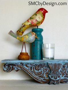 SMC by Design: Shelf Redo with La Craie #lacraiepaint @Ma maison ecologique Blanche Paint Company @Shannon Bellanca