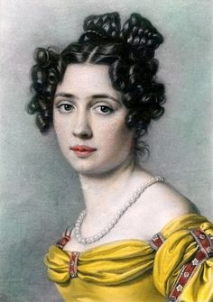 Maria Anna Wittelsbach, Queen of Saxony, 1820s
