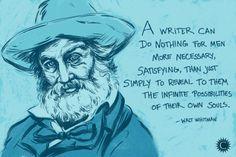 Happy Birthday Walt Whitman! #quote #inspirational