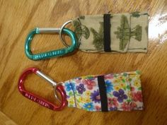 Flash drive holders, lots of other cute tutorials on this site.
